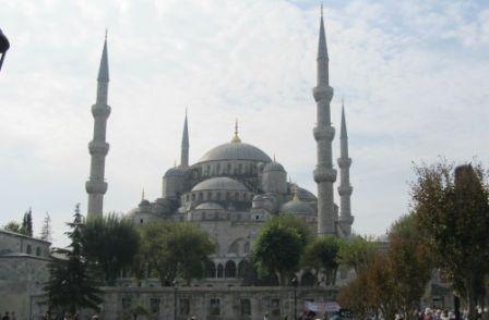 блакитна мечеть у Стамбулі