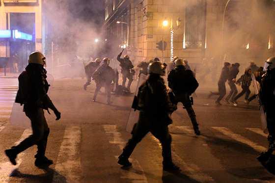 афіни у владі анархії