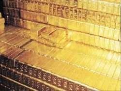 швейцарський франк відлитий із зубного золота концтаборів