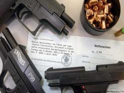 у німеччині подвоїлася кількість заявок на носіння зброї