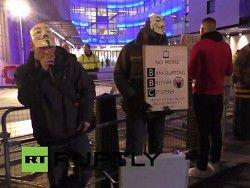хакери anonymous провели протест проти брехні телекомпанії ввс
