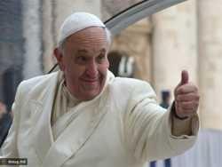 папа римський виступає за глобалізацію сатанізму
