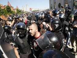 українські радикали обіцяють перетворити гей-парад в києві