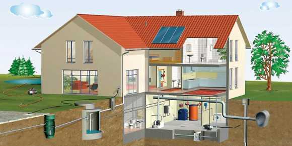 дачний будинок: як врятуватися від підмивання фундаменту і підвалу