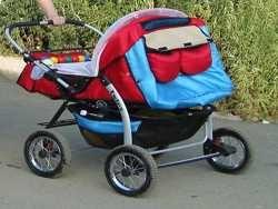 поради щодо вибору подвійний коляски