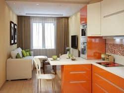 як обладнати кухню, поєднану з вітальні?