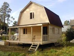 дача з бруса: будуємо будинок своїми руками