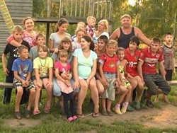 як багатодітна сім'я відродила село