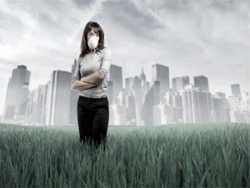 шкідливі речовини з атмосфери потрапляють в організм через шкіру