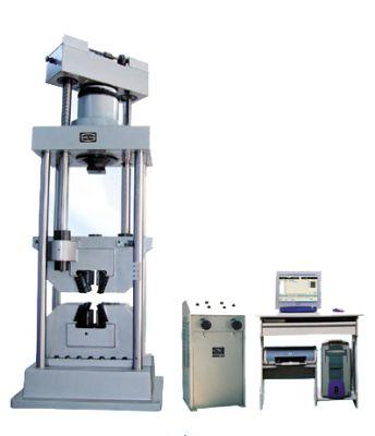 Універсальні випробувальні машини з комп'ютерним відображенням ходу випробування серії WEW