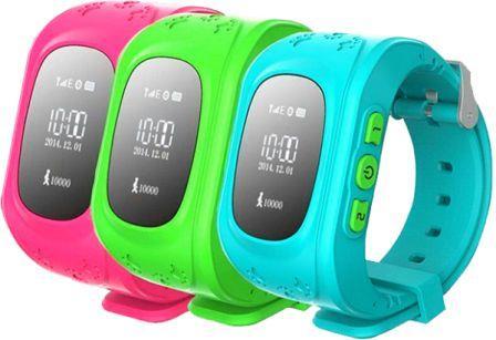 Дитячі годинники з GPS(детский gps трекер часы)