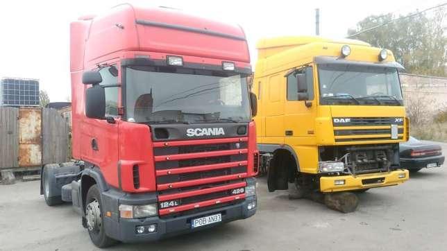 Розбирання вантажівок в Санкт-Петербурзі