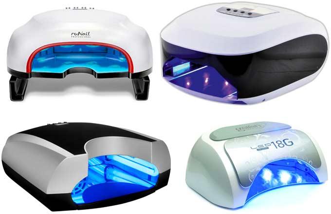 Лампи для полімеризації гелів та сушки гель-лаків