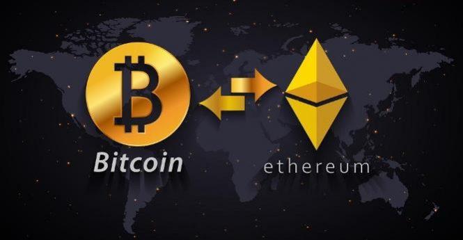 обменять bitcoin на ethereum